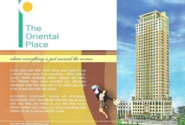 THE ORIENTAL PLACE MAKATI CITY