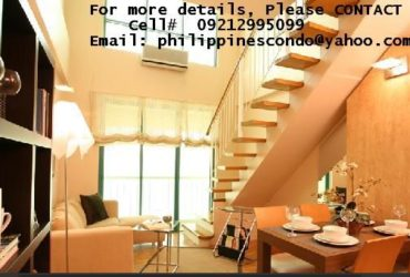 PRE-SELLING CONDO UNITS @ MAKATI CITY (PARKING -OPTIONAL)…CELL#: 09212995099