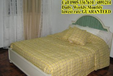 MAKATI STUDIO ROOMS WITH OWN CR, BEDS & CABINETS P8K TO P10K 489-1214