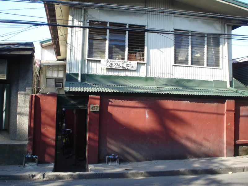 4-UNIT APARTMENT  FOR SALE VERGARA MANDALUYONG
