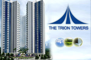 THE TRION TOWERS CONDO : LOW MONTHLY PAYMENT 0% INTEREST PROMO / ROBINSONS LAND / WWW.REALTYMANILA.COM