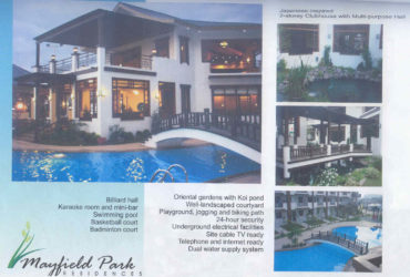 MAYFIELD PARK CONDO RESIDENCES  PASIG