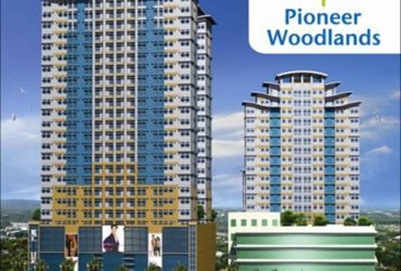 PIONEER WOODLANDS-NO DOWN PAYMENT AND ZERO% INTEREST FOR AS LOW AS P13000/MO. WITH 3% DISCOUNT PROMO ON TCP!! Edsa corner boni ave pioneer street, Mandaluyong