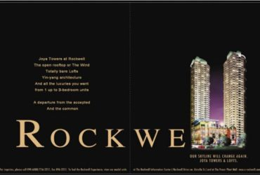 [ROCKWELL CENTER] JOYA MAKATI