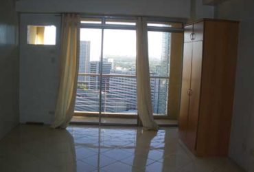 UNFURNISHED STUDIO UNIT FOR RENT IN PASEO PARKVIEW SUITES MAKATI