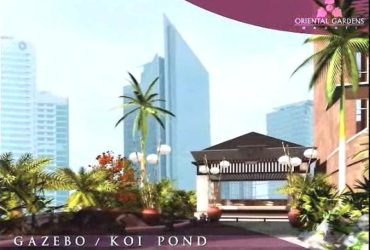 """ORIENTAL GARDEN MAKATI"" (READY FOR OCCUPANCY CONDO UNITS: STUDIO, 1BR & 3BR PENTHOUSE UNITS)"