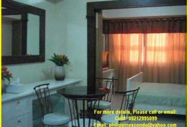 FOR RENT : STUDIO UNITS @ MAKATI CITY, PHILIPPINES