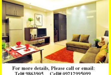PRE-SELLING STUDIO UNIT (FA: 39SQM) ""