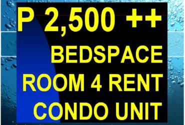 BEDSPACERS & ROOM RENTERS MAKATI