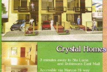 CRYSTAL HOMES San Roque, Marikina