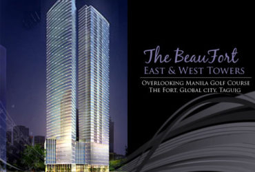 THE BEAUFORT MILLIONAIRE'S ROW, GLOBAL CITY TAGUIG