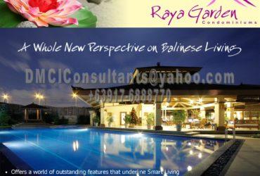 RAYA GARDEN 10-10-80 RPOMO! NEAR THE AIRPORT, NEAR MAKATI, NEAR GLOBAL CITY PARANAQUE
