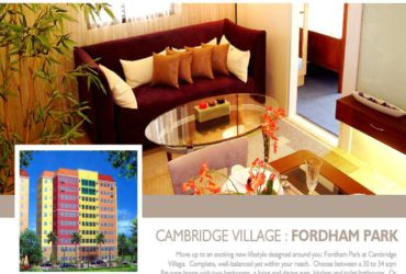 CAMBRIDGE VILLAGE – RESORT TYPE CONDO AS LOW P8844/MO NO DOWNPAYMENT