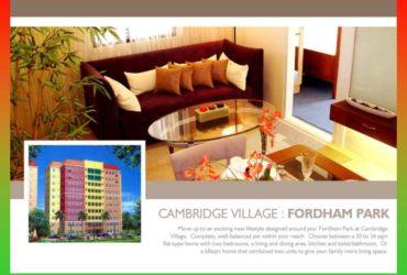 CAMBRIDGE VILLAGE PASIG CITY, NEAR SM MEGAMALL AND PASIG GENERAL HOSPITAL, MANILA METROPOLITAN PASIG