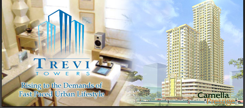 TREVI TOWERS CONDOMINIUM, MAKATI 1 BR CORNER UNIT/ VISTA LAND RESIDENCES