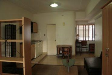 FOR SALE: STUDIO-TYPE CONDOMINIUM UNIT IN PERLA MANSION IN MAKATI CITY