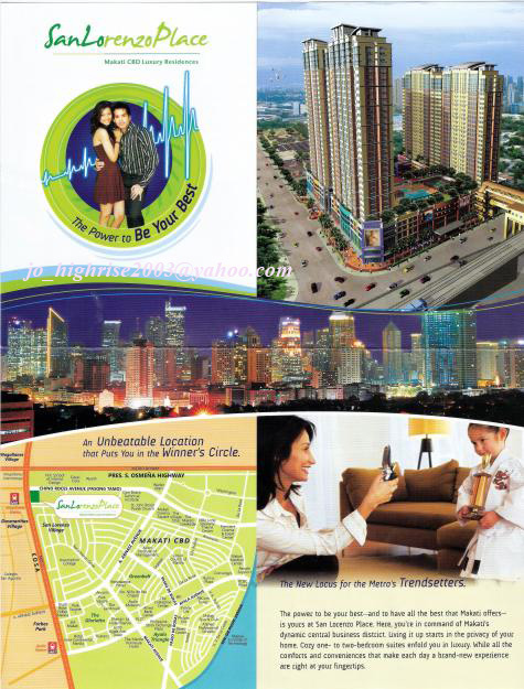 MAKATI CONDO: SAN LORENZO PLACE(PRE-SELLING) – NO DOWN PAYMENT
