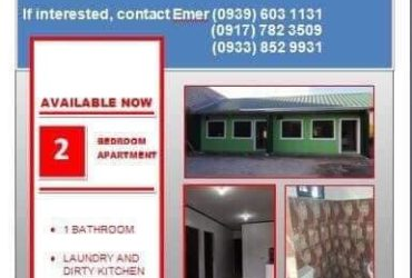 Apartment for Rent in Floridablanca Pampanga