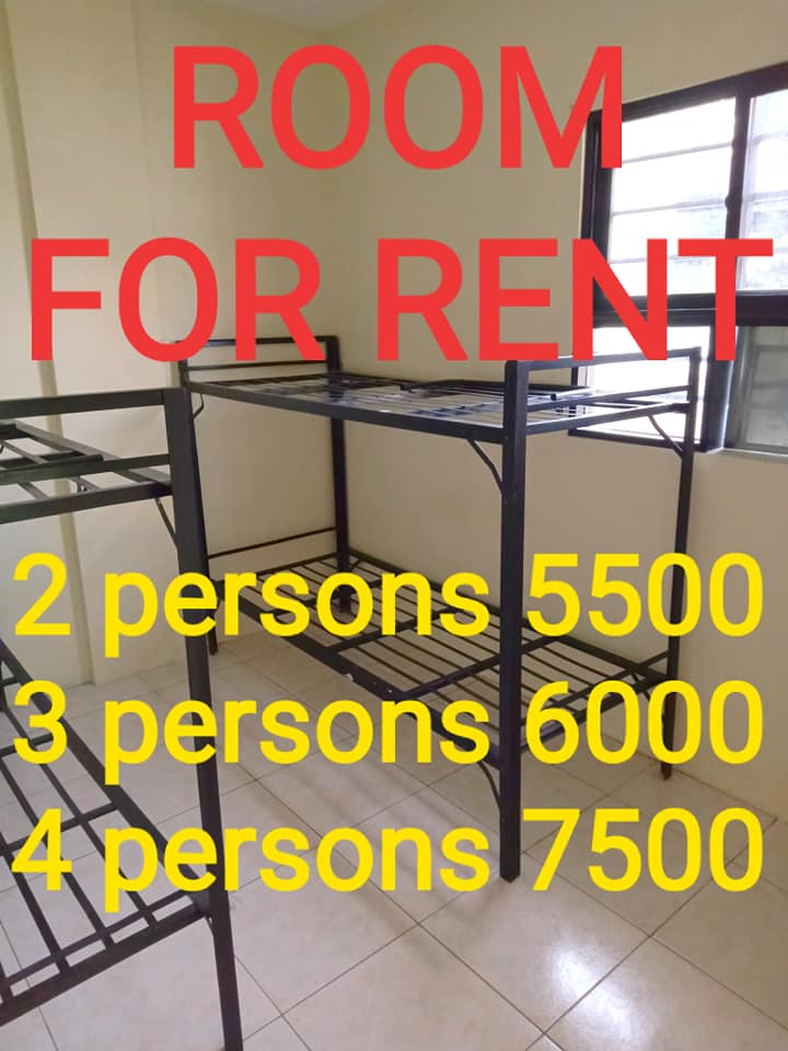 Room for Rent near Angeles as low as 5500