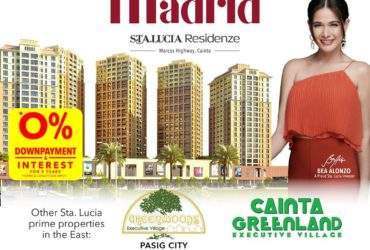 Pre-selling condominium at Sta Lucia Center Cainta boundary of Pasig
