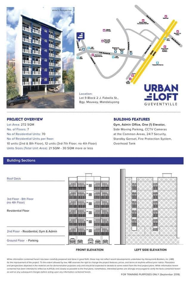 Urban Loft Gueventville Units for Sale