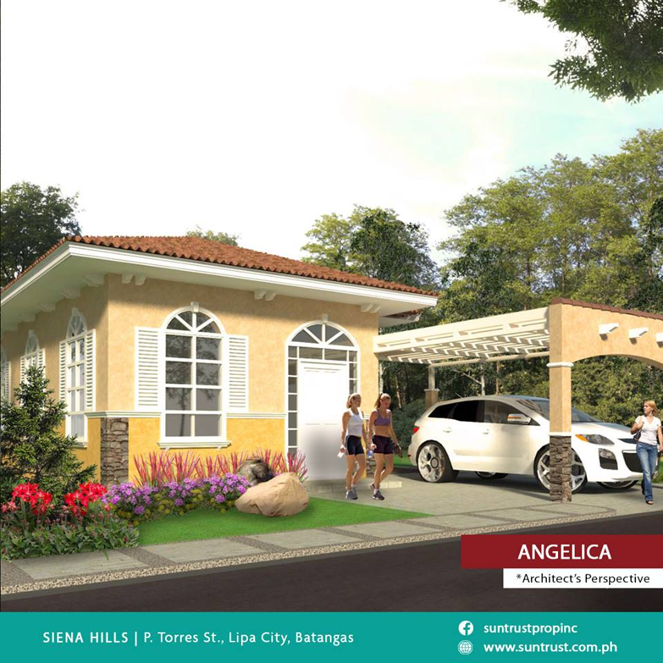 Bungalow house and lot in Siena hills Lipa City Batangas for sale
