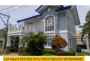 Sofia Model House and Lot for sale in Governor's Hills Subdivision Brgy Biclatan General Trias Cavite