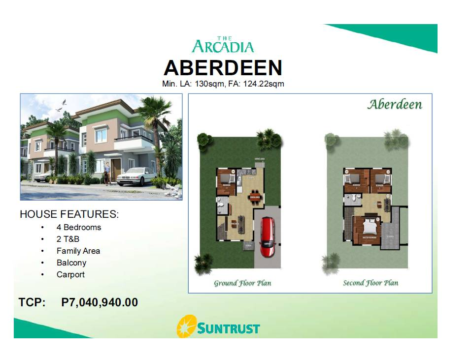 Aberdeen House and Lot for sale in Porac Pampangga