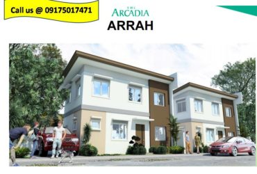 Arrah Model House and Lot for sale in Porac Pampangga,