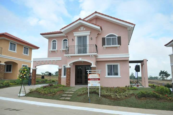 Caterina Model House and lot for sale in Verona Silang Cavite,