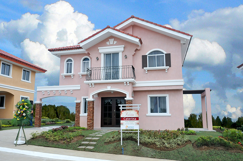 Caterina Model House and lot for sale in sienna Hills