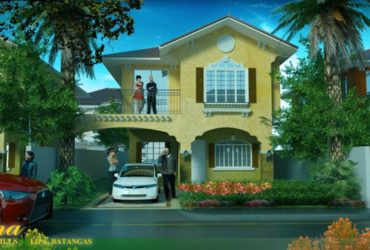 CELESTINA house and lot model for sale! in Sienna Hills Lipa City of Batangas