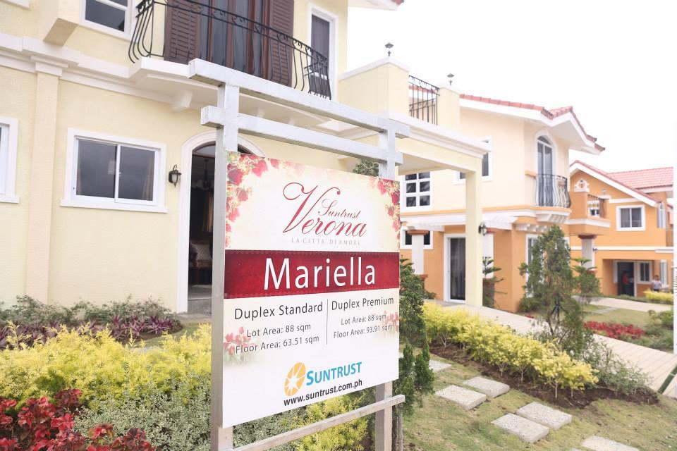Mariella Model Duplex 3 Bedrooms 1 Toilet & Bath