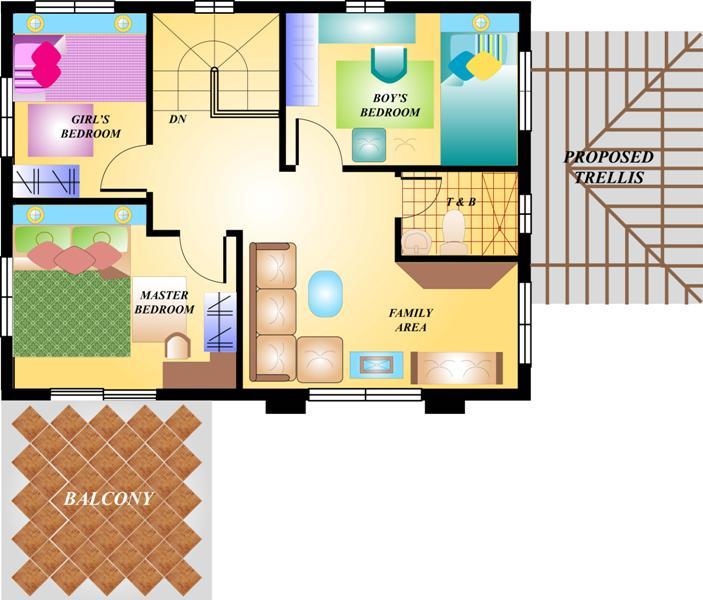 Niran Model 4 Bedrooms 2 Toilet & Bath Sentosa Calamba Laguna