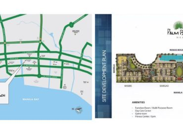 Palm Beach West 2 BEDROOM with Balcony Federal Land MOA area