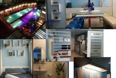 For rent furnish studio unit Persimon Condominium Mabolo cebu city