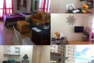 For rent studio unit avida towers cebu tower 1 at 18th floor, within it park apas lahug cebu city