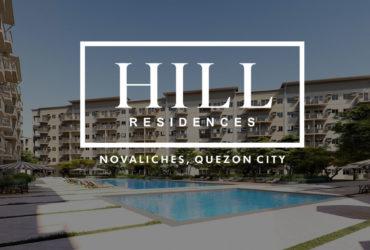 Hill Residences – Condominium for Sale in Novaliches, Quezon City
