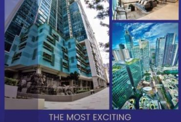 2BR condo unit in One Uptown Residences
