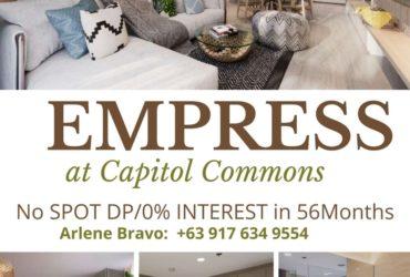Preselling Luxury Condo near BGC -Empress at Capitol Common Studio Unit