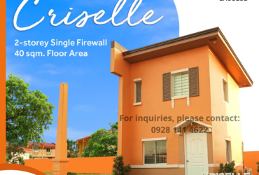 AFFORDABLE HOUSE AND LOT FOR SALE IN BACOLOD CITY – CRISELLE