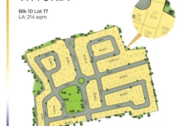 Lot only for sale in Crown Asia Vittoria (214sqm)