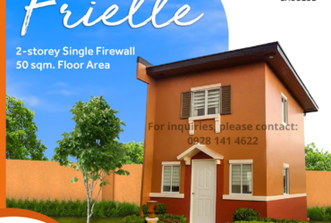 AFFORDABLE HOUSE AND LOT FOR SALE IN BACOLOD CITY – FRIELLE