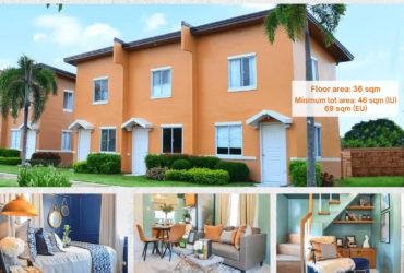 Affordable house and lot for sale in Santa Rosa Nueva Ecija – Arielle IU