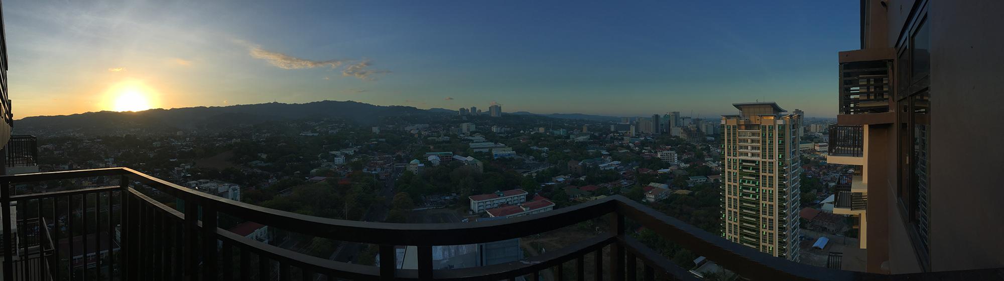 Fully furnished 1 Bedroom unit with balcony and parking at Azalea Place, Gorordo Lahug, Cebu City