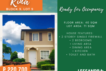 Affordable House and Lot in Bacoor Cavite