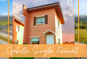 AFFORDABLE HOUSE AND LOT FOR SALE IN BACOLOD CITY – EZABELLE SINGLE FIREWALL BANK