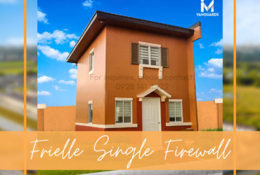 AFFORDABLE HOUSE AND LOT FOR SALE IN BACOLOD CITY – FRIELLE SINGLE FIREWALL BANK