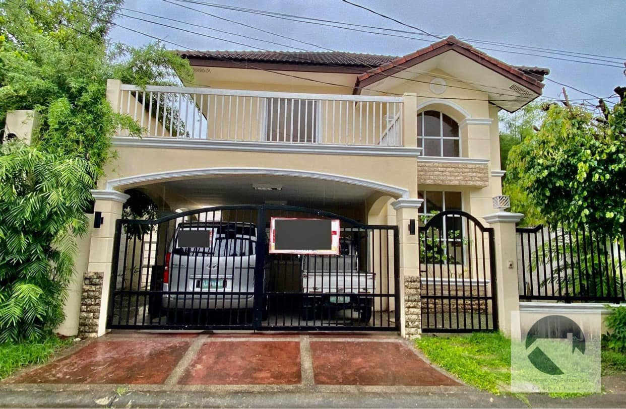 Furnished 3 Bedrooms House For Rent in Balibago, Angeles City Near SM Clark